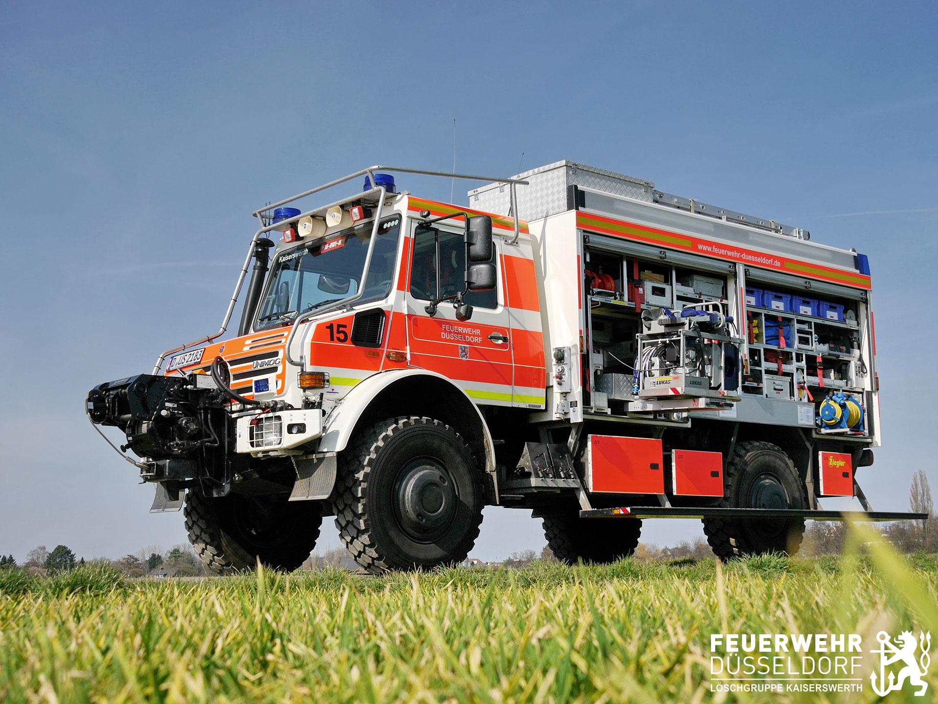 Fahrzeuge Freiwillige Feuerwehr Kaiserswerth